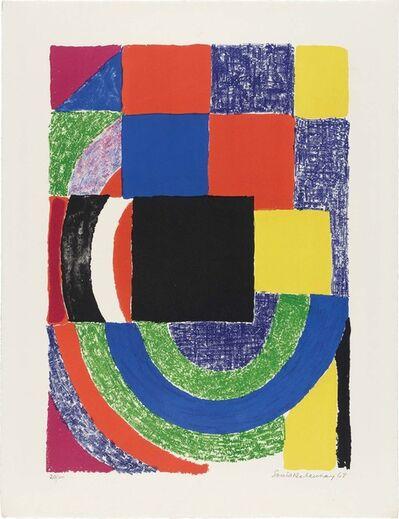 Sonia Delaunay, 'CARRÉ NOIR', 1968