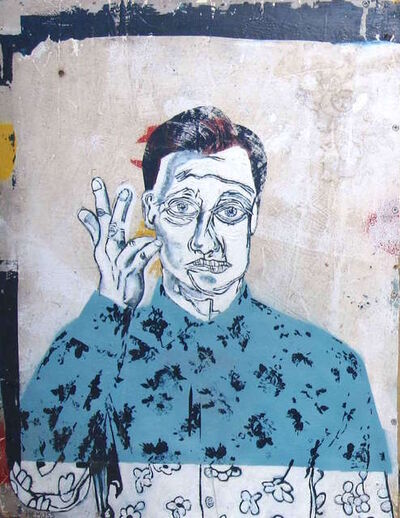Adam Hemuss, 'Vauxhall Boy (Blue)', 2016