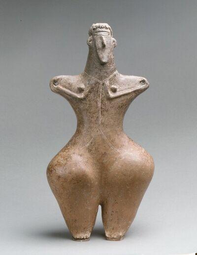Unknown Iranian, 'Statuette of a female', ca. early 1st millennium B.C.