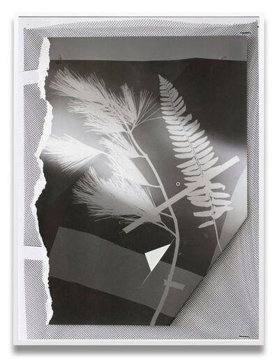 Letha Wilson, 'Re-Photogram New Hampshire New York (Corner Tuck)', 2020