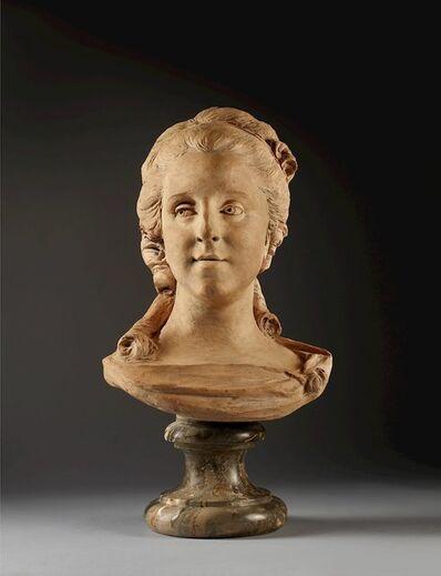Jean-Baptiste Lemoyne, 'Presumed Portrait of Madame Mazeline', 1743