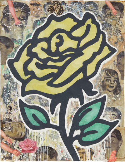 Donald Baechler, 'Yellow Rose', 2011
