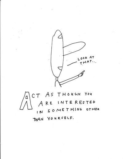 Jim Torok, 'Act As Though', 2014
