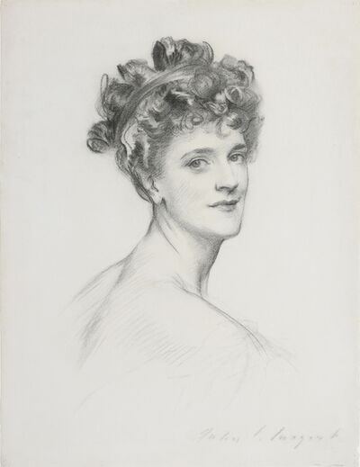 John Singer Sargent, 'Alice, Lady Lowther (nee Blight)', ca. 1905