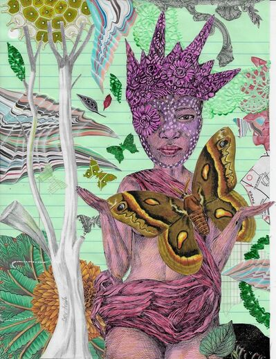 Lori Field, 'Queen Mariposa', 2021