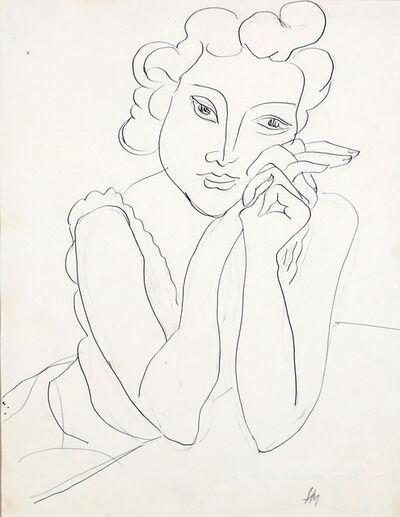 Henri Matisse, 'Femme aux mains croisées', 1940