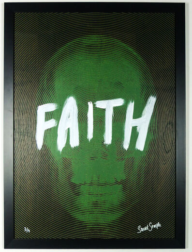 Stuart Semple, 'My Heaven is Inside (Green Faith)'