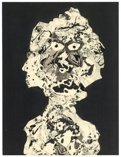 Jean Dubuffet, 'Personnages I', 1956