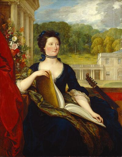 Benjamin West, 'Maria Hamilton Beckford (Mrs. William Beckford)', 1799