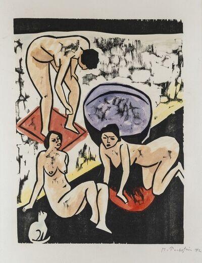 Max Pechstein, 'Bathers I', 1911-1912