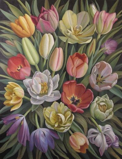 Christina Mosegaard, 'Composition with Tulips', 2015