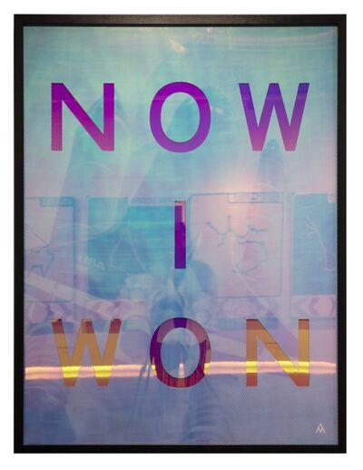 Massimo Agostinelli, 'NOW I WON', 2018