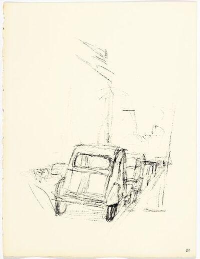 Alberto Giacometti, 'Paris sans fin', 1969