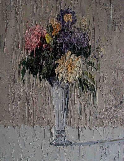 Carl Melegari, 'Fiori in un Vaso'