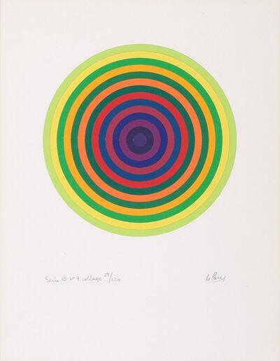 Julio Le Parc, 'Série 15 No. 9', circa 1970