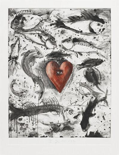 Jim Dine, 'Self in the Ocean ', 1991