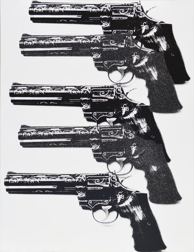 Russell Young, 'Selu 13 TCB Guns', 2010