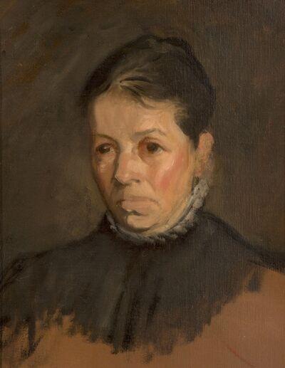 William Rothenstein, 'Bertha Rothenstein', ca. 1900