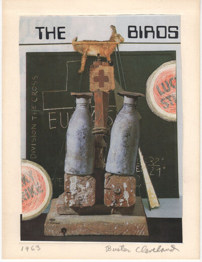 "Buster Cleveland, 'A Century of Art Almost, 1963, Joseph Beuys, ""The Birds""', 1990"