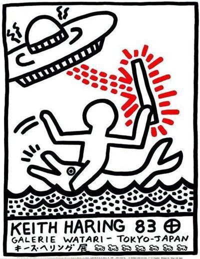 Keith Haring, 'Galerie Watari Tokyo Poster.', 1983