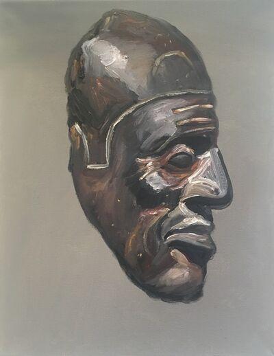 Kajahl, 'Stone Fragment Head', 2016