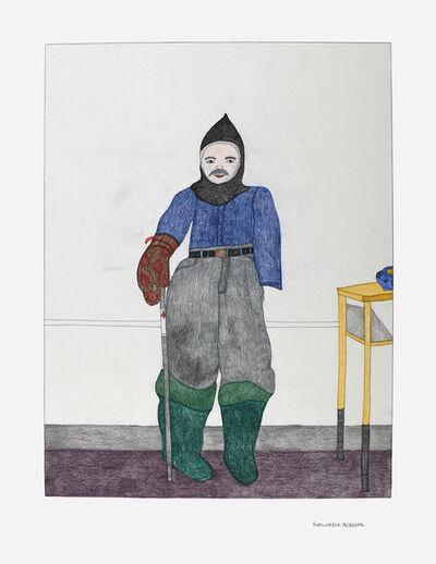 Kudluajuk Ashoona, 'Untitled (Figure Standing)', 2019
