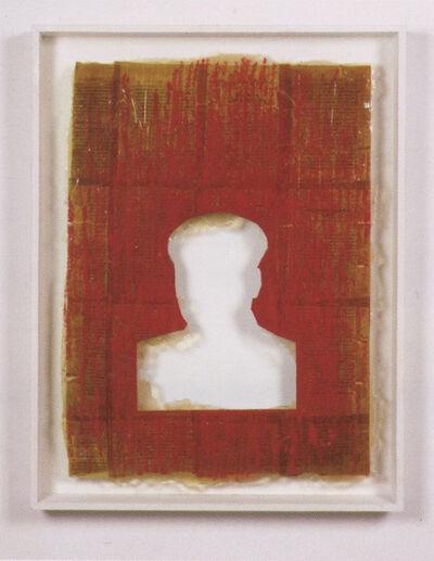Zhang Hongtu, 'Material Mao Series - Lipstick Mao', 1993
