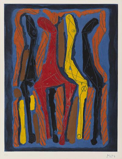 Marino Marini, 'Marino from Goethe (Sheet IV)', 1979