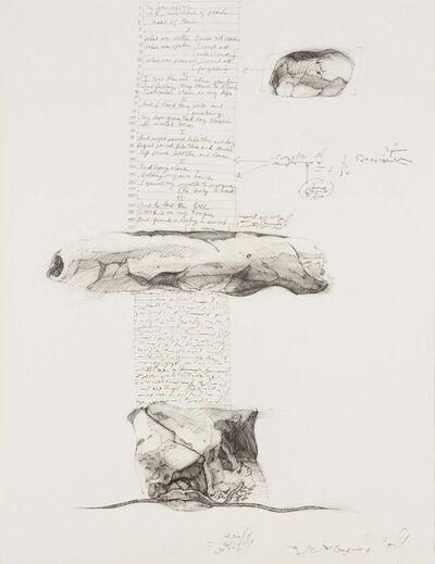 Barbara Chase-Riboud, 'Column-Poem', 1972