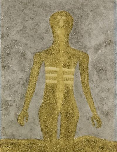 Rufino Tamayo, 'Figura en Ocre.', 1976