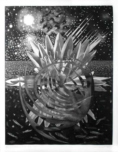 James Rosenquist, 'Welcome to the Water Planet', 1987