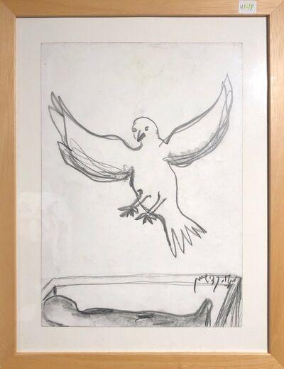Menashe Kadishman, 'Peace Dove', ca. 1999