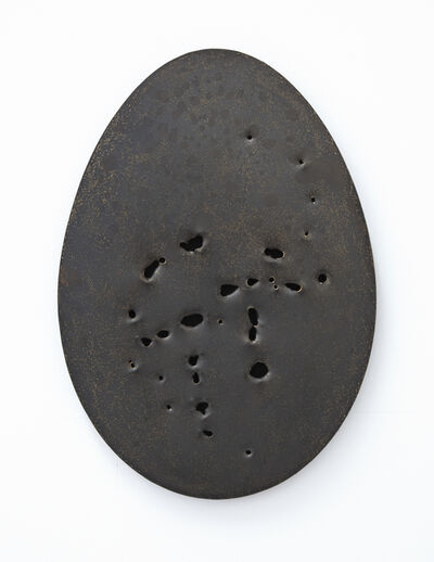 Gavin Turk, 'Holy Egg (Small Brass Blackened)', 2018