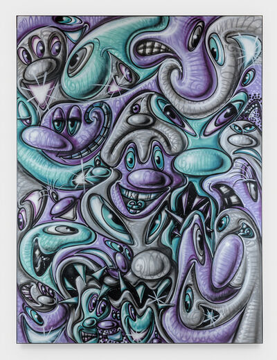 Kenny Scharf, 'Krunch Time', 2019