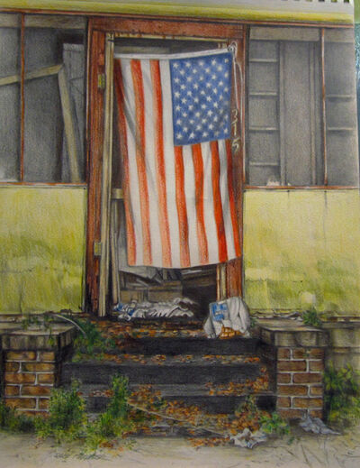 Shirley Rabe' Masinter, 'Flag ', 2015