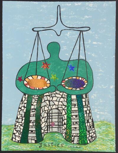 Niki de Saint Phalle, 'Justice - Card No. 8', 1998