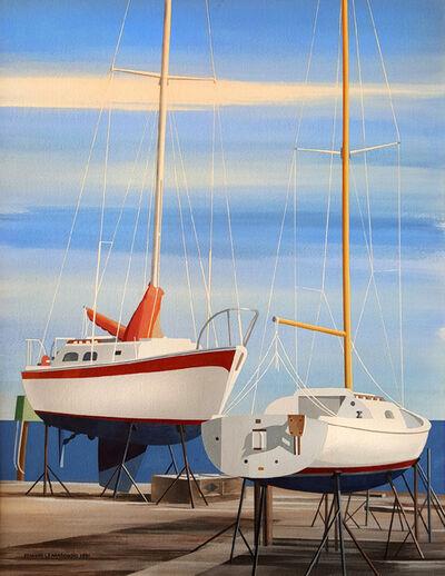 Edmund Lewandowski, 'Sail Boats', 1991