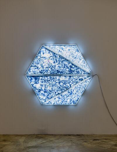 Yunchul Kim, 'Coptic Light', 2019