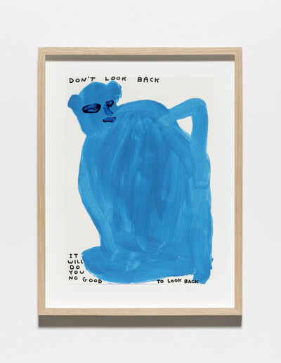 David Shrigley, 'Untitled (Don't look back)', 2019
