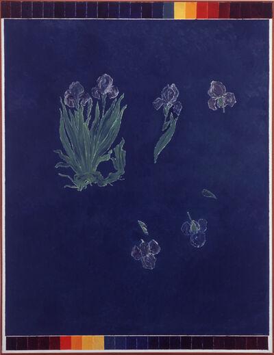 Kazuo Nakamura, 'In Space, Blue Irises', 1967