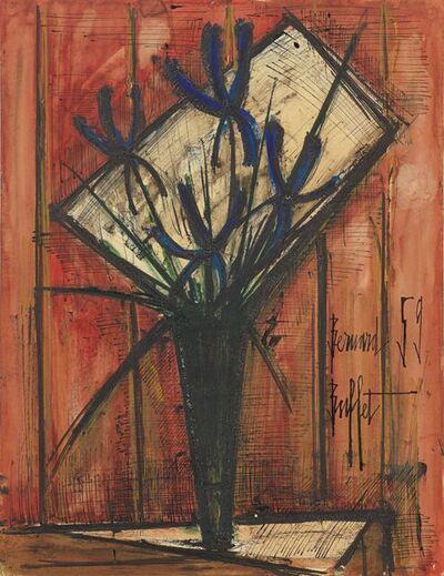 Bernard Buffet, 'Bouquet de fleurs au vase', 1959