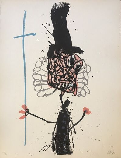 Antonio Saura, 'Felipe II', 1964