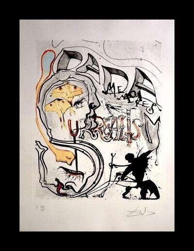 Salvador Dalí, 'Memories of Surrealism Angel of Dada Surrealism ', 1971