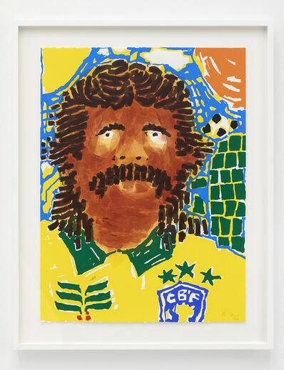 Koichi Sato (b. 1974), 'Soccer', 2020