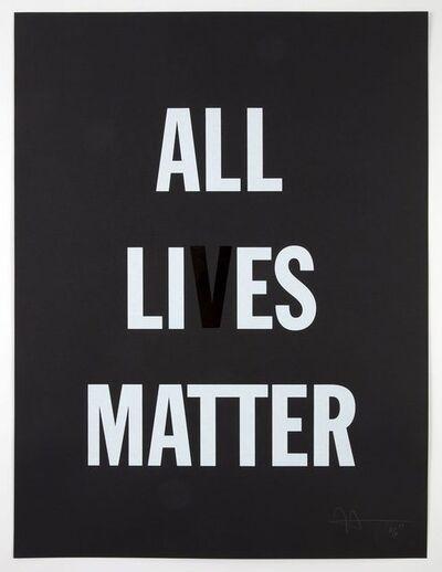 Hank Willis Thomas, 'All Li es Matter', 2019