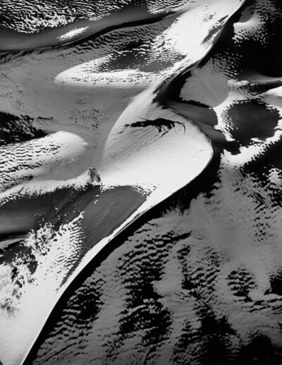 William Garnett, 'Sand Dunes with Snow #1, Colorado', 1983