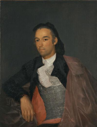 Francisco de Goya, 'Portrait of the Matador Pedro Romero', 1795-1798