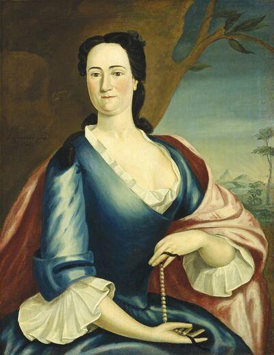John Greenwood, 'Elizabeth Fulford Welshman', 1749