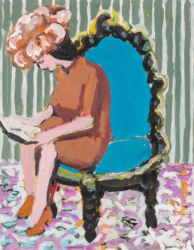 Benny Andrews, 'Portrait of Mimi Gross Grooms', 1966