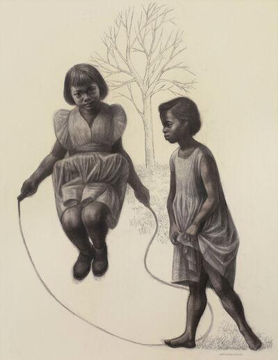 Charles White, 'Skipping', 1960